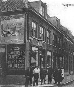 Muurreclame Hoogstraat historische foto Resized